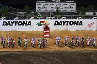 Scenes from the 2013 Daytona Supercross, Daytona International Speedway, Daytona Beach, FL, March 2013.  (Photo by Brian Cleary/www.bcpix.com)