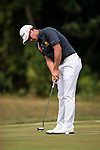 Rattanon Wannasrichan of Thailand in action during the Venetian Macao Open 2016 at the Macau Golf and Country Club on 16 October 2016 in Macau, China. Photo by Marcio Machado / Power Sport Images