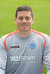 St Johnstone FC 2013-14<br /> Stevie Banks<br /> Picture by Graeme Hart.<br /> Copyright Perthshire Picture Agency<br /> Tel: 01738 623350  Mobile: 07990 594431