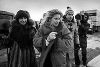 FILE PHOTO - Tournage du film,de Claude Lelouch  A NOUS DEUX (1979) avec Catherine Deneuve t Jacques Dutronc<br /> <br /> PHOTO :  Andre Boucher - Agence quebec Presse<br /> <br /> HI RES Sur demande - aucune restriction