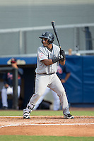 Andy Diaz (53) of the Pulaski Yankees at bat against the Danville Braves at American Legion Post 325 Field on July 31, 2016 in Danville, Virginia.  The Yankees defeated the Braves 8-3.  (Brian Westerholt/Four Seam Images)