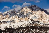 Europe/Italie/Vénétie/Dolomites/Cortina d'Ampezzo : Massif des Dolomites  Mont   Cristallo 3216 m