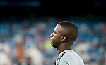 Vinicius Junior of Real Madrid looks on prior to the La Liga 2018-19 match between Real Madrid and Getafe CF at Estadio Santiago Bernabeu on August 19 2018 in Madrid, Spain. Photo by Diego Souto / Power Sport Images