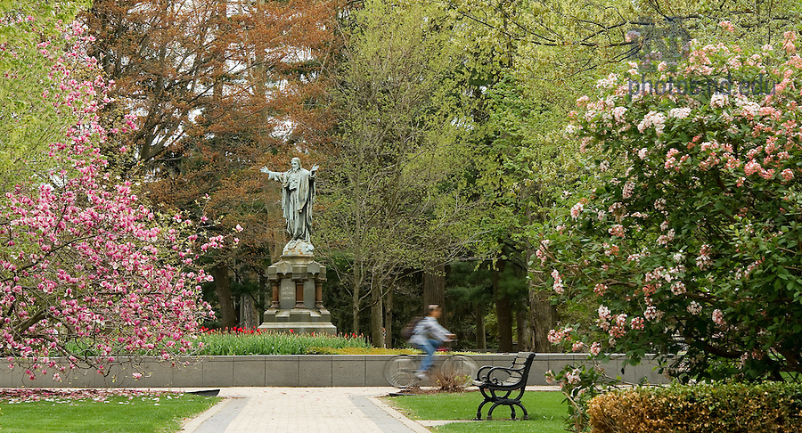 May 5, 2011; Main Quad..Photo by Matt Cashore/University of Notre Dame