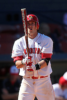 Illinois State Redbirds third baseman Ryan Court #19 during a game vs. the Ohio State Buckeyes at Chain of Lakes Park in Winter Haven, Florida;  March 11, 2011.  Illinois defeated Ohio State 12-1.  Photo By Mike Janes/Four Seam Images