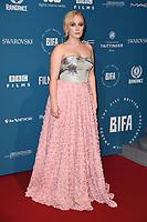 Alexa Davies<br /> arriving for the British Independent Film Awards 2018 at Old Billingsgate, London<br /> <br /> ©Ash Knotek  D3463  02/12/2018