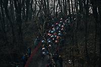 dark woods<br /> <br /> U23 Men's race<br /> UCI CX World Cup Namur / Belgium 2017