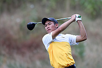 SAPPHIRE, NC - OCTOBER 01: Ian Peng of Virginia Commonwealth University at The Country Club of Sapphire Valley on October 01, 2019 in Sapphire, North Carolina.