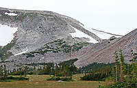 Snowy Range scene