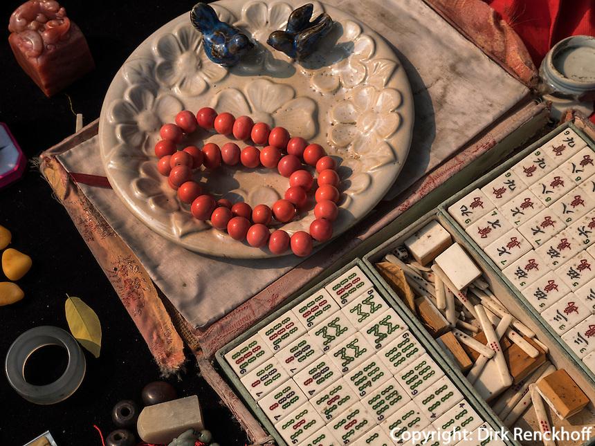 Panjiayuan Antikmarkt, Peking, China, Asien<br /> Panjiayuan antique market, Beijing, China, Asia