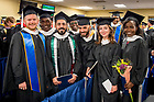 May 20, 2017; Peace studies Master Degree candidates at the 2017 Graduate School Commencement ceremony. (Photo by Matt Cashore/University of Notre Dame)