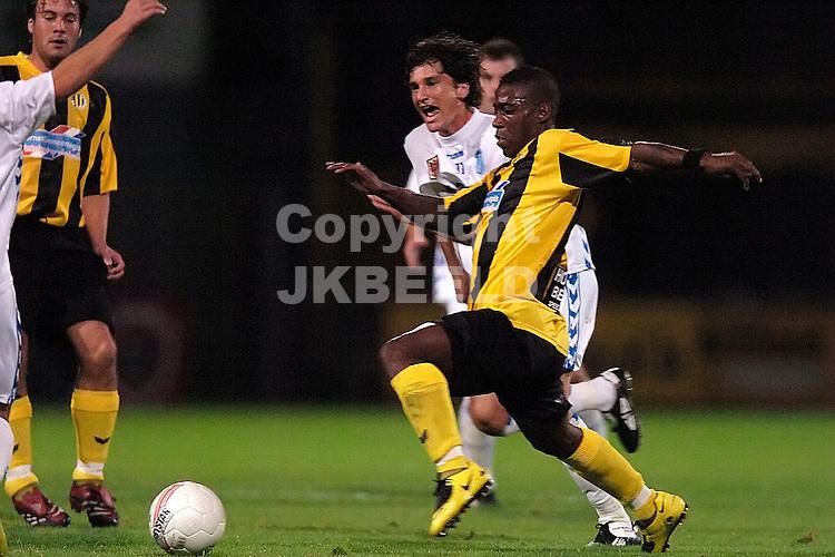 veendam - agovv jupiler league seizoen 2007-2008 21-09-2007  schaken in duel