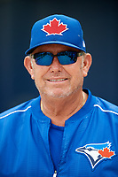 Toronto Blue Jays Dennis Holmberg after a Minor League Spring Training Intrasquad game on March 31, 2018 at Englebert Complex in Dunedin, Florida.  (Mike Janes/Four Seam Images)