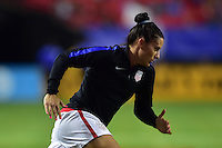 Atlanta, GA - Sunday Sept. 18, 2016: Ali Krieger prior to a international friendly match between United States (USA) and Netherlands (NED) at Georgia Dome.