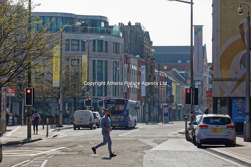 Pictured: The High Street, Swansea, Wales, UK.<br /> Re: The owner of The White Swan pub is closing down after anti-social behaviour, violence, drugs and prostitution in the High Street, Swansea, Wales, UK.