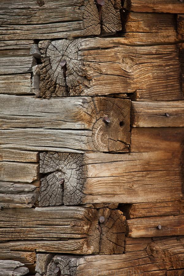 Moulton barn detail, Grand Teton National Park