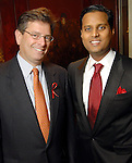 John Serpe and Aashish Shah at the World AIDS Day Luncheon benefitting AIDS Foundation Houston at the Four Seasons Hotel Tuesday Dec. 01,2009. (Dave Rossman/For the Chronicle)