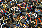 May 16, 2015; Master degree graduates at the Graduate School Commencement ceremony. (Photo by Matt Cashore/University of Notre Dame)