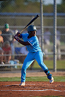 Ryan Spikes (5) during the WWBA World Championship at Lee County Player Development Complex on October 11, 2020 in Fort Myers, Florida.  Ryan Spikes, a resident of Lilburn, Georgia who attends Parkview High School, is committed to Tennessee.  (Mike Janes/Four Seam Images)