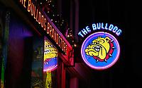 Nederland  Amsterdam  2020.    Coffeeshop The Bulldog op de Wallen.   Foto : ANP/ HH / Berlinda van Dam