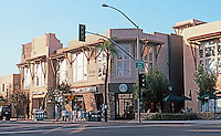 San Diego: Kensington Park Plaza. Mixed use development--Commercial below, Townhouses above.