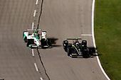Josef Newgarden, Team Penske Chevrolet, Alexander Rossi, Andretti Autosport Honda