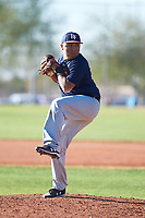 Isaac Muniz (53), from Pecos, Texas, while playing for the Astros during the Under Armour Baseball Factory Recruiting Classic at Red Mountain Baseball Complex on December 28, 2017 in Mesa, Arizona. (Zachary Lucy/Four Seam Images)