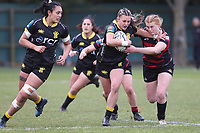 Action from the 2021 Farah Palmer Cup Women's rugby match between Canterbury and Wellington Pride at Rugby Park in Christchurch, New Zealand on Sunday, 1 August 2021. Photo: Martin Hunter / lintottphoto.co.nz