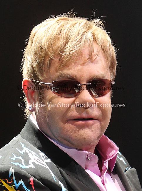 Sir Elton John performs at the 1st Mariner Arena in Baltimore, Md. March 26, 2011..Copyright EML/Rockinexposures.com.