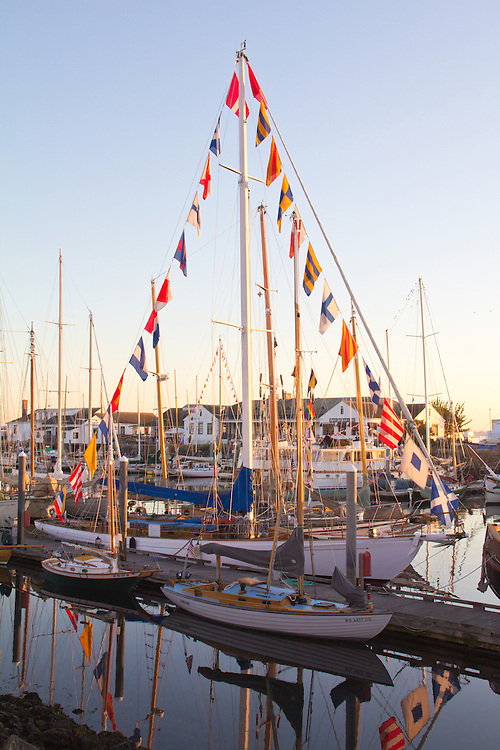 Port Townsend, Wooden Boat Festival, Port Hudson, boat harbor, classic sailboats, Olympic Peninsula, Washington State, Pacific Northwest, USA,