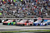 #24: William Byron, Hendrick Motorsports, Chevrolet Camaro Axalta and #20: Christopher Bell, Joe Gibbs Racing, Toyota Camry Craftsman