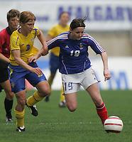 MAR 15, 2006: Faro, Portugal:  Maria Bergkvist, Amelie Coquet