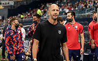 KANSAS CITY, KS - JULY 15: Gregg Berhalter during a game between Martinique and USMNT at Children's Mercy Park on July 15, 2021 in Kansas City, Kansas.