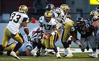 Khari Jones Winnipeg Blue Bombers 2003. Photo F. Scott Grant