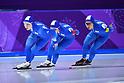 PyeongChang 2018: Speed Skating: Ladies' Team Pursuit Quarter-final