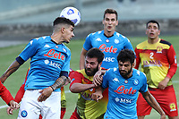 Giovanni Di Lorenzo of SSC Napoli in action during the friendly football match between SSC Napoli and Castel di Sangro Cep 1953 at stadio Patini in Castel di Sangro, Italy, August 28, 2020. <br /> Photo Cesare Purini / Insidefoto