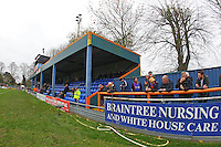General view of the ground ahead of kick-off during Braintree Town vs Oxford United at the Avanti Stadium