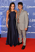 LONDON, UK. October 15, 2019: Karim Zeroual & Amy Dowden at the National Lottery Awards 2019, London.<br /> Picture: Steve Vas/Featureflash