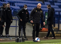 Mansfield Town's caretaker manager Richard Cooper looks on <br /> <br /> Photographer Andrew Kearns/CameraSport<br /> <br /> The EFL Sky Bet League Two - Bolton Wanderers v Mansfield Town - Tuesday 3rd November 2020 - University of Bolton Stadium - Bolton<br /> <br /> World Copyright © 2020 CameraSport. All rights reserved. 43 Linden Ave. Countesthorpe. Leicester. England. LE8 5PG - Tel: +44 (0) 116 277 4147 - admin@camerasport.com - www.camerasport.com