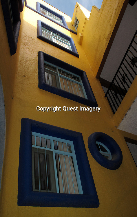 Guanajuato is a city and municipality in central Mexico and the capital of the state of the same name. It is located in a narrow valley, which makes the streets of the city narrow and winding.  The historic center of the city has numerous small plazas and colonial-era mansions, churches and civil constructions built using pink or green sandstone.<br /> Photo by Mike Rynearson/Quest Imagery