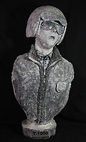 BNPS.co.uk (01202 558833)<br /> AdamPartridge/BNPS<br /> <br /> A bust of T-1000 when frozen in liquid nitrogen from the film Terminator 2.<br /> <br /> A vast collection of 'weird and wonderful' memorabilia from a music venue that hosted early Beatles gigs has emerged for sale for close to £50,000.<br /> <br /> Lathom Hall in Liverpool was one of the best known clubs on the Merseybeat music scene in the late 1950s and early 1960s.<br /> <br /> Among their regular bands were the Beatles, although at that time they were known as the Silver Beets.<br /> <br /> Since those days the hall has adapted and is now an entertainment venue crammed full of pop culture memorabilia.