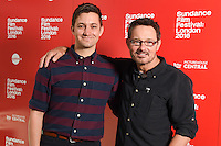 """director, Chris Kelly and David Courier<br /> arrives for the """"Other People"""" screening as part of the Sundance Film Festival: London 2016 at the Picturehouse Central, London.<br /> <br /> <br /> ©Ash Knotek  D3127  03/06/2016"""