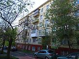 Der Block in em Jelena Korolkowa  wohnt soll wahrscheinlich auch abgerissen werden / Abrisspläne in Moskau 2017 für über 1 Million Menschen, Demolition plans in Moscow for over 1 Million people