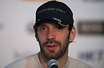 Jean-Eric Vergne of France from TECHEETAH speaks at the press conference after the FIA Formula E Hong Kong E-Prix Round 1 at the Central Harbourfront Circuit on 02 December 2017 in Hong Kong, Hong Kong. Photo by Marcio Rodrigo Machado / Power Sport Images