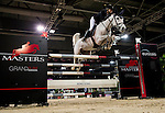 Anne-Sophie Godart of France riding Carlitto van't Zorgvliet in action during the Longines Grand Prix as part of the Longines Hong Kong Masters on 15 February 2015, at the Asia World Expo, outskirts Hong Kong, China. Photo by Victor Fraile / Power Sport Images