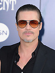 """Brad Pitt attends The World Premiere of Disney's """"Maleficent"""" held at The El Capitan Theatre in Hollywood, California on May 28,2014                                                                               © 2014 Hollywood Press Agency"""