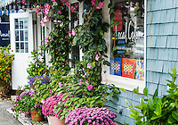 Charming gift shop, Kennebunkport, Maine, USA.
