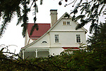 Heaceta Head lighthouse and keepers quarters Florence Oregon, Heceta Head Lighthouse Florence Oregon, Heceta Head Lighthouse May 30 1894, flowers, Lightkeepers' house, Lighthouse light, lighthouse stairs, Pacific Ocean, Oregon, Fine Art Photography by Ron Bennett, Fine Art, Fine Art photography, Art Photography, Copyright RonBennettPhotography.com © Fine Art Photography by Ron Bennett, Fine Art, Fine Art photography, Art Photography, Copyright RonBennettPhotography.com ©