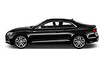 Car driver side profile view of a 2018 Audi S5 Premium Plus 2 Door Coupe