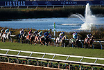 DEL MAR, CA - NOVEMBER 04: The field competes during the Longines Breeders' Cup Turf race on Day 2 of the 2017 Breeders' Cup World Championships at Del Mar Racing Club on November 4, 2017 in Del Mar, California. (Photo by Kazushi Ishida/Eclipse Sportswire/Breeders Cup)
